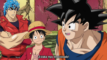 Toriko x One Piece x Dragonball Z Special Crossover_001_31983