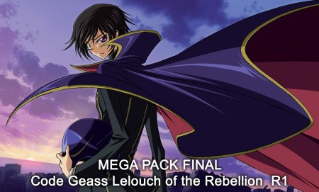 Mega Pack Code Geass Lelouch of the Rebellion  R1